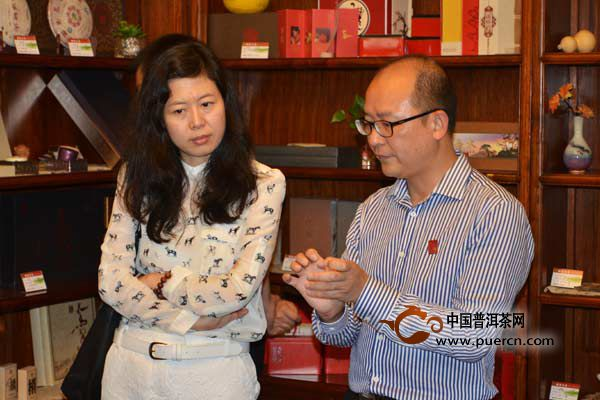 中央电视台采访澜沧古茶