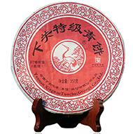 2014年下关特级青饼铁饼(生茶)357克