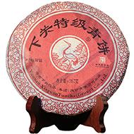 2014年下关特级青饼泡饼(生茶)357克