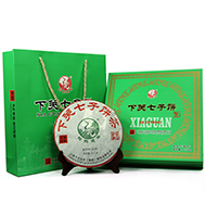 2014年下关七子饼礼盒(生茶)357克