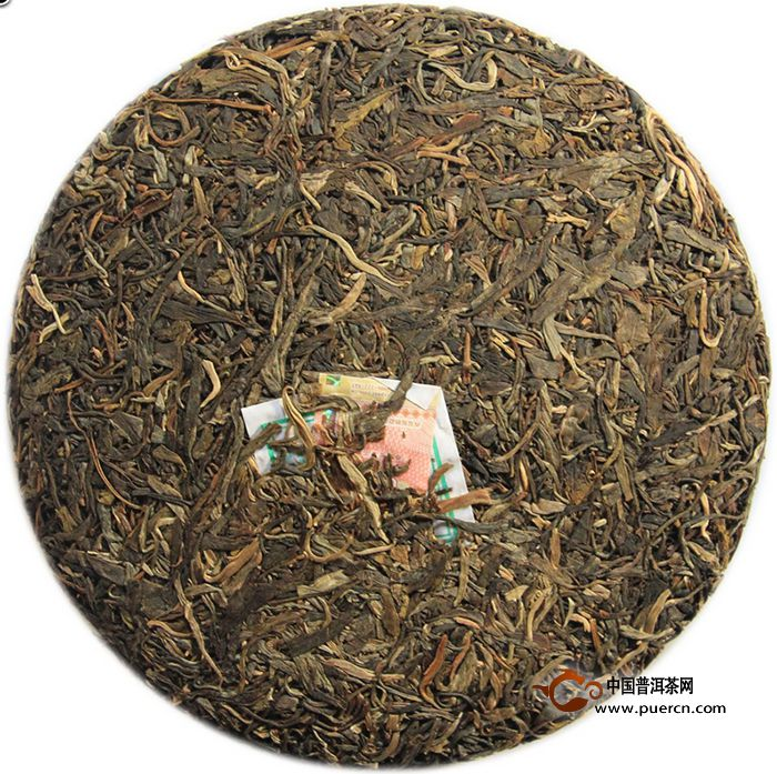 2014年陈升号马饼生茶500克3