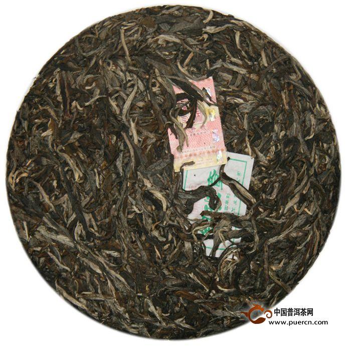 2014年陈升号银班章生茶357克3