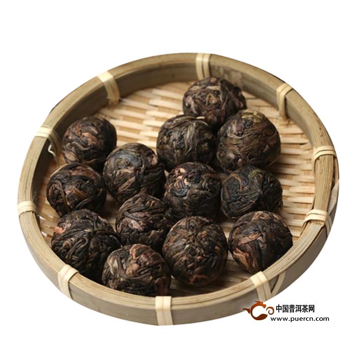 2014年书剑拨玛古树逍遥丹生茶8克3
