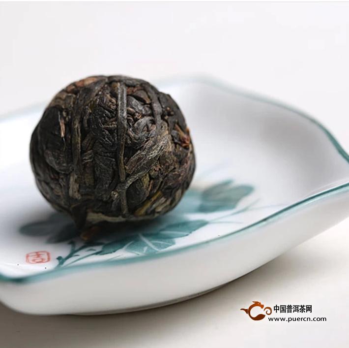 2014年书剑麻黑古树逍遥丹生茶8克2