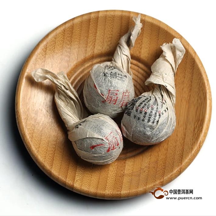 2014年书剑新班章古树散茶生茶2
