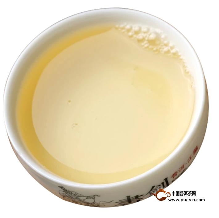 2014年书剑新班章古树散茶生茶5