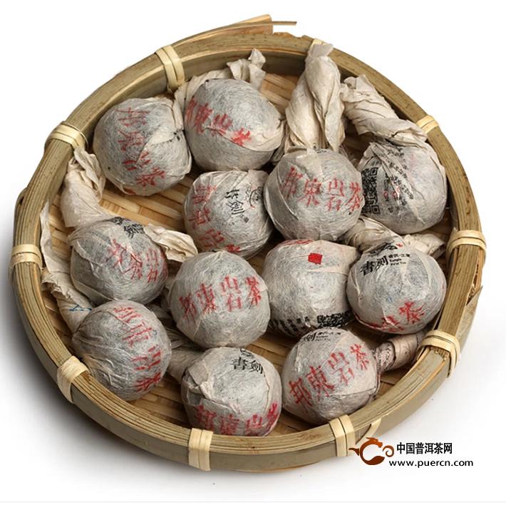 2014年书剑邦东古树逍遥丹(生茶)8克