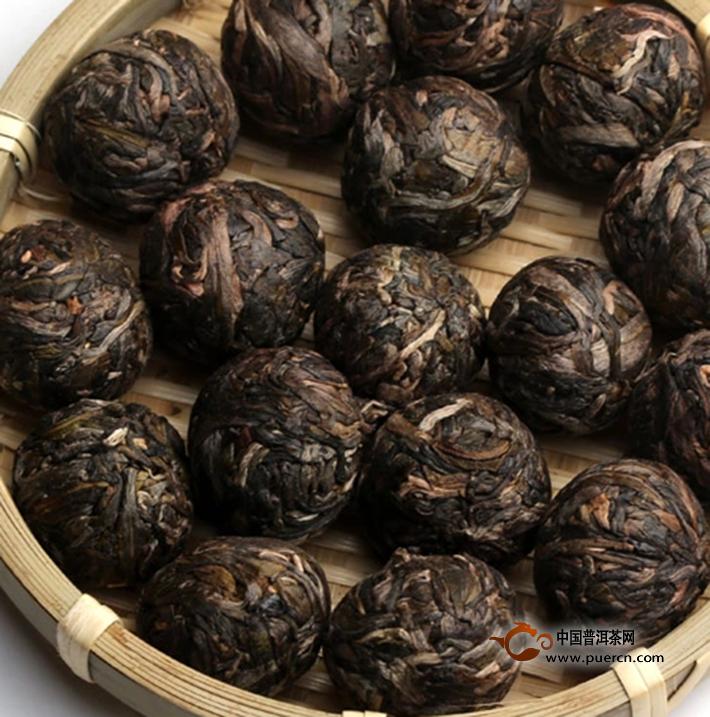 2014年书剑巴达古树逍遥丹(生茶)8克