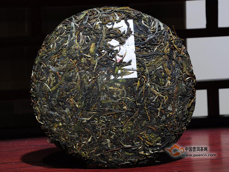 林宇号2014年青玉普洱茶生饼