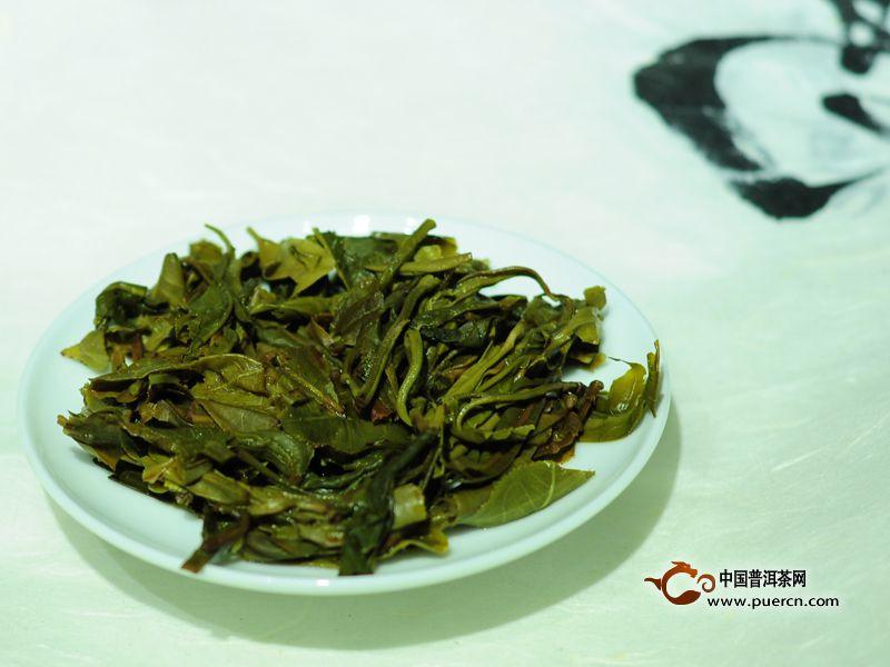 林宇号2014年那罕普洱茶生饼