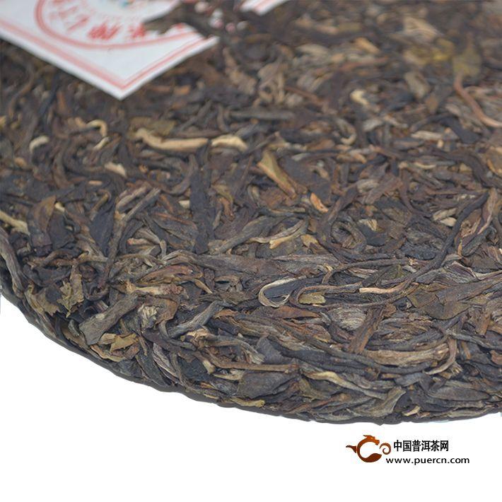 2013年中茶布朗乔木(生茶)357克