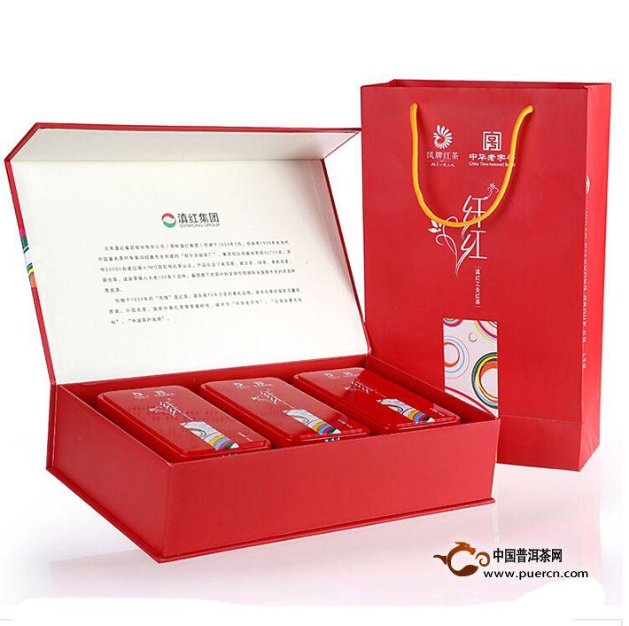 2014年凤牌滇红纤红 (铁盒装) 192克
