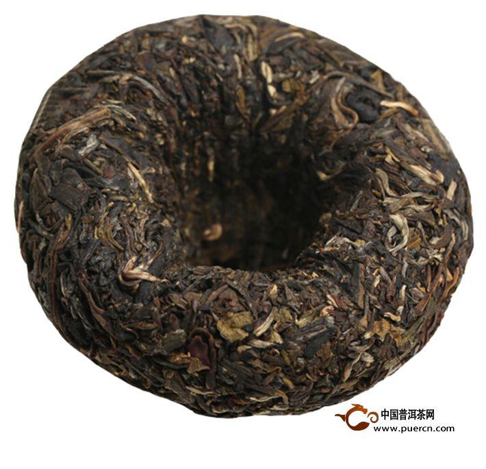 2013年大益甲级青沱301批生茶100克4