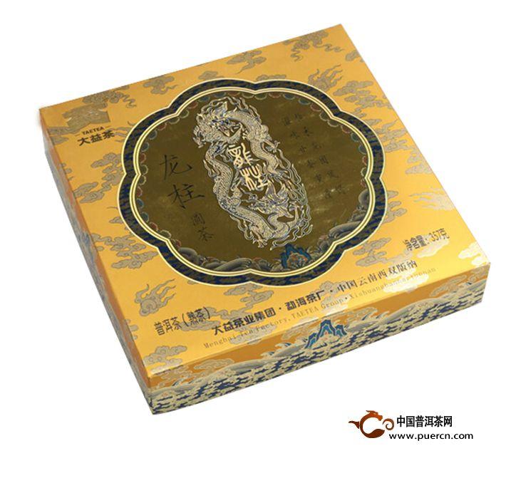 2011年大益小小龙柱101批熟茶357克2