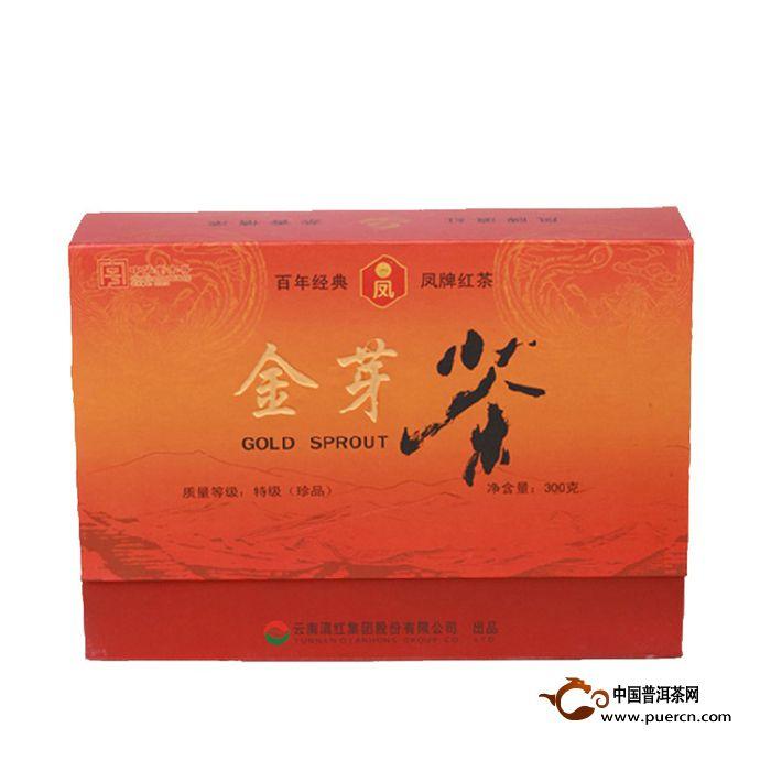 2014年凤牌滇红金芽(大礼盒)300克