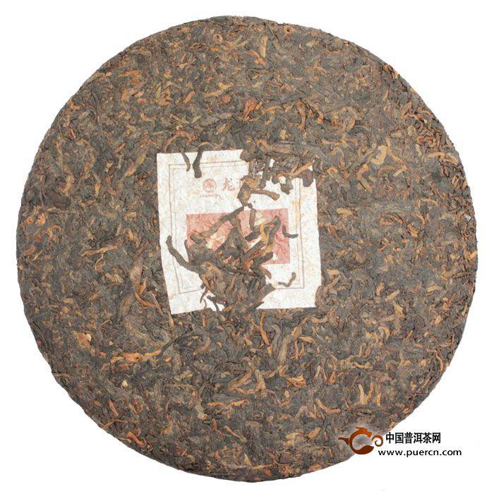 2012年龙润如意熟茶 3