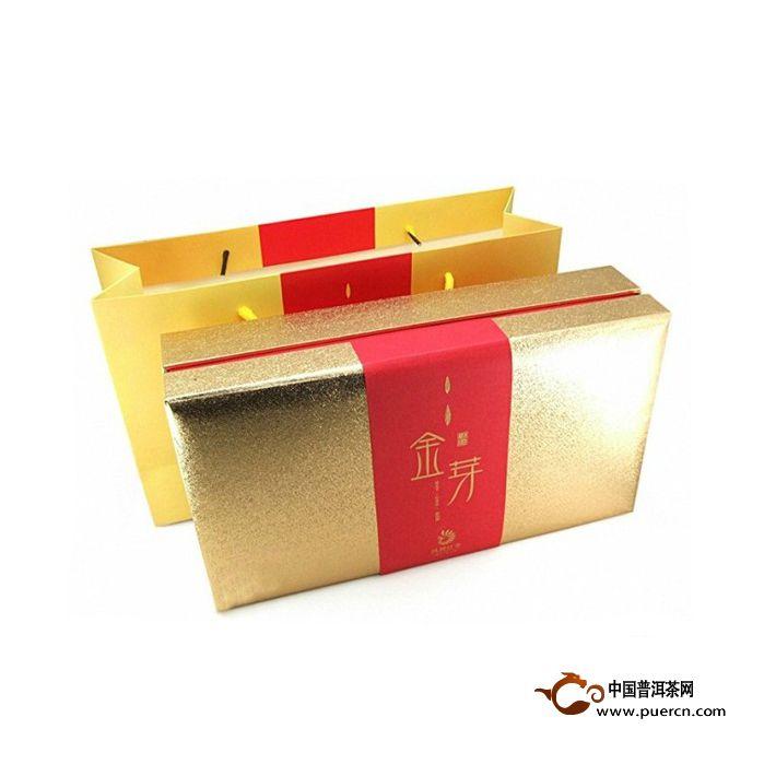 2014年凤牌滇红金芽(小礼盒) 150克