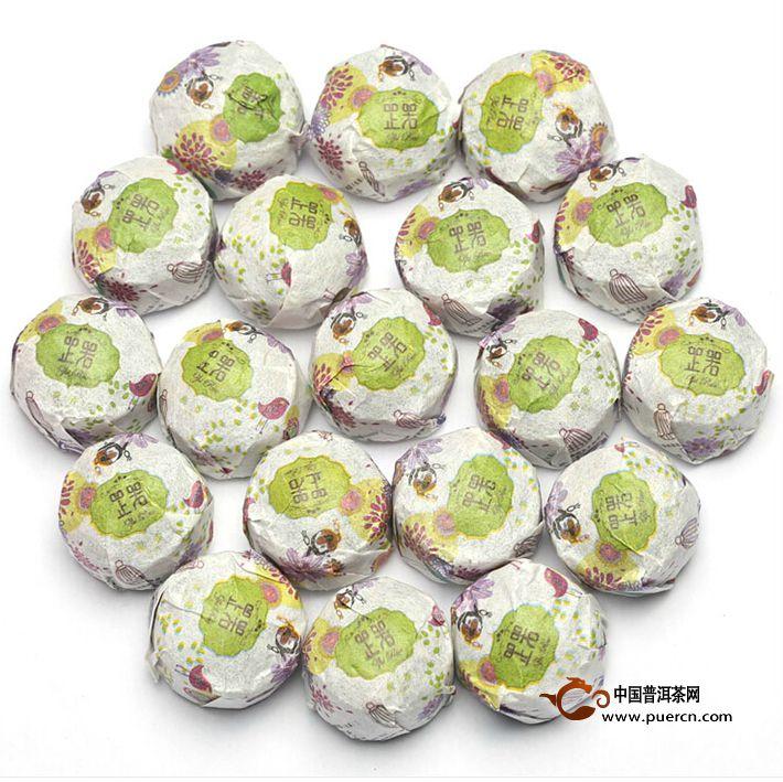 2013年书剑芷若小沱荷香(生茶)约200克
