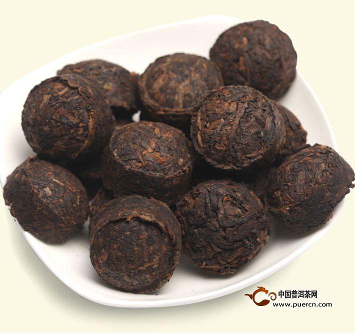 2013年书剑芷若小沱陈香(熟茶)约200克