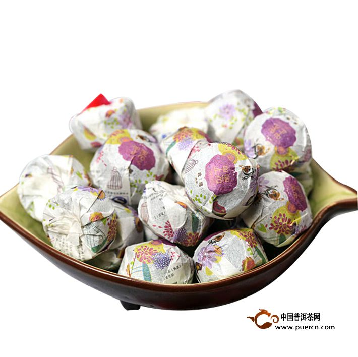 2013年书剑芷若小沱玫瑰(熟茶)约200克