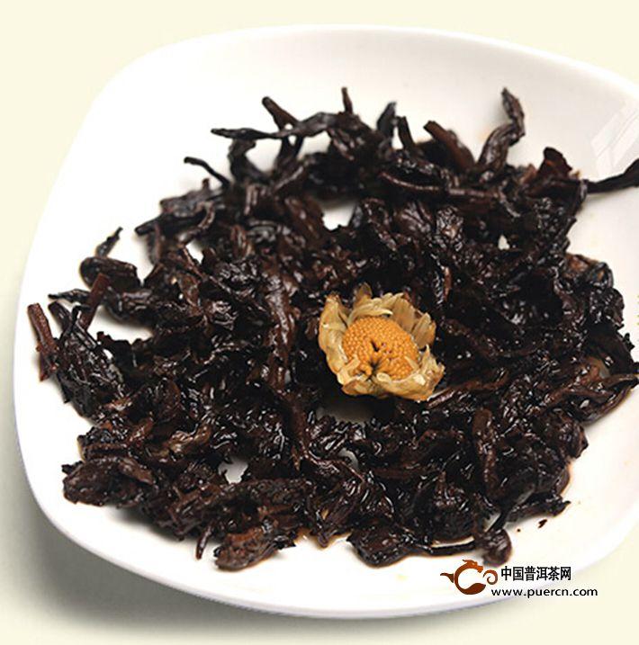 2013年书剑芷若小沱菊韵(熟茶)约200克