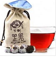 2013年书剑芷若小沱糯香(熟茶)约200克