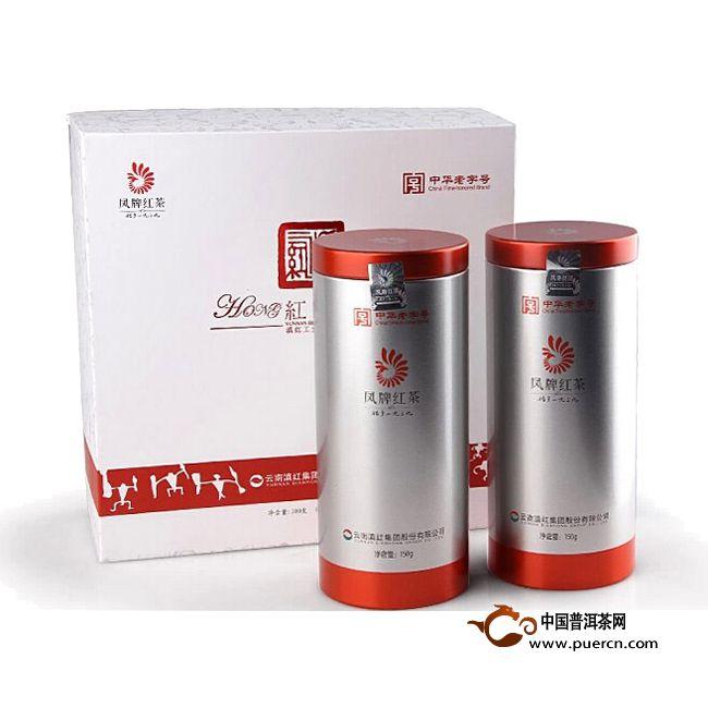2014年凤牌滇红红韵(礼盒) 300克