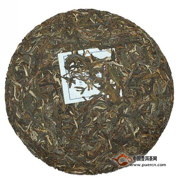 2012年云元谷高山寨茶饼生茶357克
