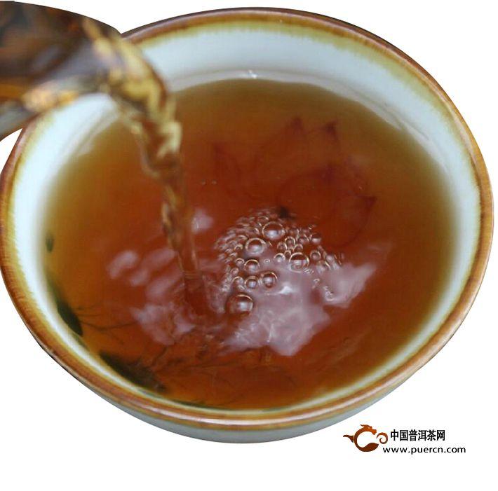 2013年龙润大利熟茶357克熟茶5