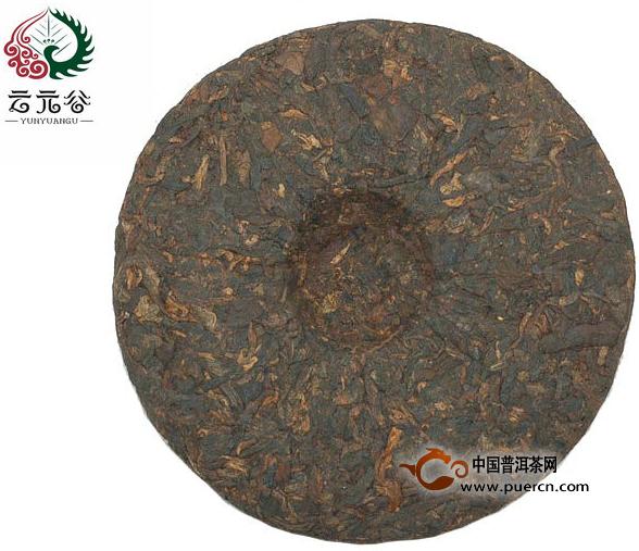 2013年云元谷游境 班章熟茶357克