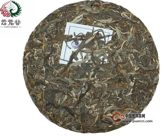2012年云元谷易武正山生茶357克