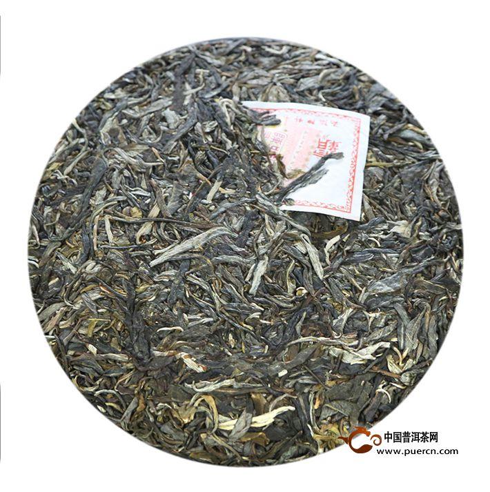 2014年陈升号霸王青饼(生茶)357克