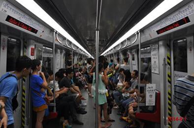 大益2014全新品牌形象广告亮相广州地铁