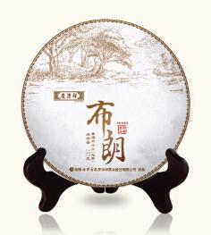 2014年七彩云南春古茶布朗(生茶)357克