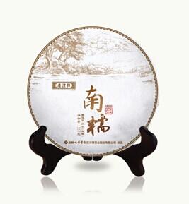2014年七彩云南春古茶南糯(生茶)357克