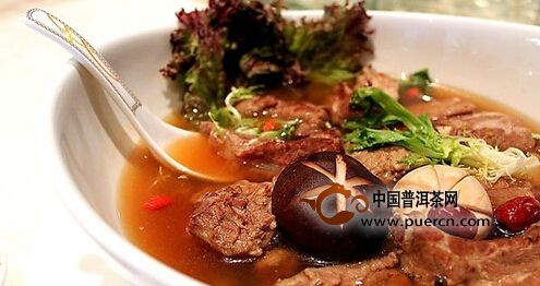 云南普洱肉骨茶的美味