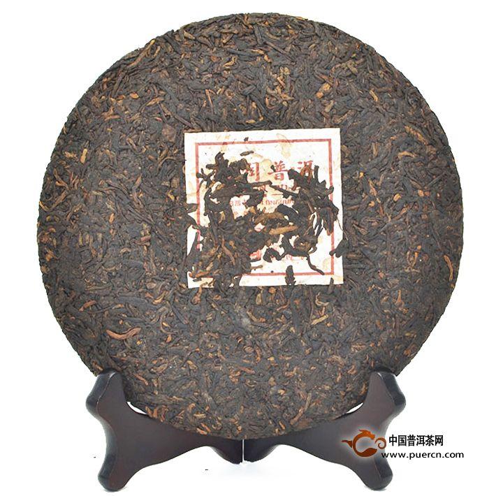 2007年龙润陈香(熟茶)357克