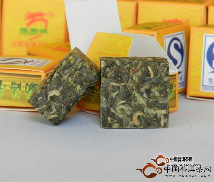 2012年龙园号勐海金砖(生茶)360克