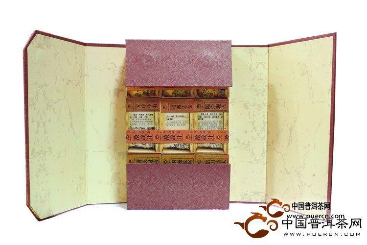 2012年龙园号三十六计套装(熟茶)1800克