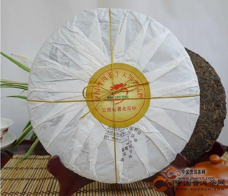 2012年龙园号魅力龙园(熟茶)357克