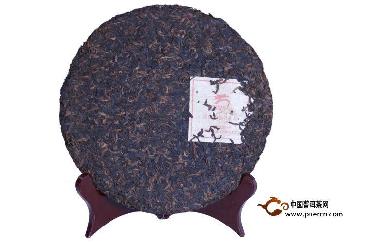 2014年龙园号老树干仓老树茶(熟茶)