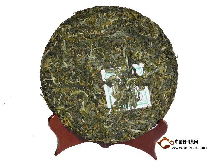 2014年龙园号勐海早春老树普洱茶紧压茶(生茶) 357克