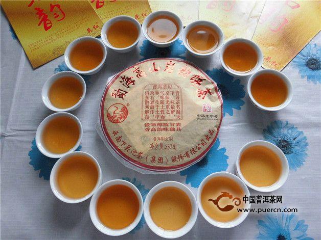 【大牌来PK】2006年大益岩韵青饼(601批次)+2012年下关岩韵