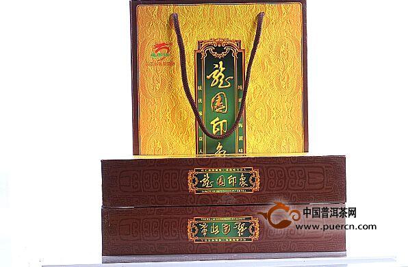 2014龙园号年龙园印象礼盒装 生茶 360g