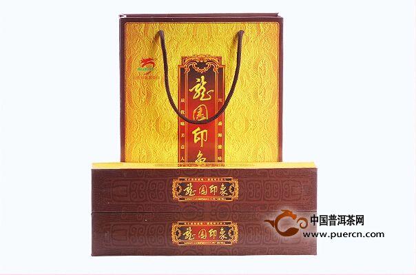 2014龙园号龙园印象熟茶 360克