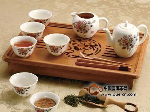 奇特的饮茶习俗