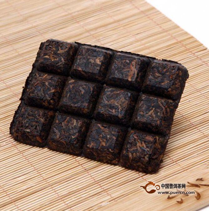 2013年中茶chocolate tea茶砖(熟茶)50克
