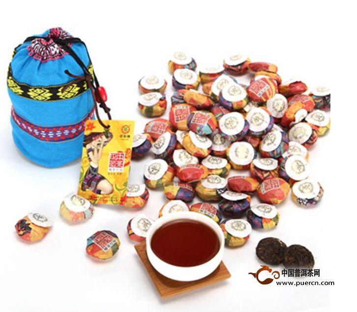 2013年中茶糯香珍珠(熟)5克