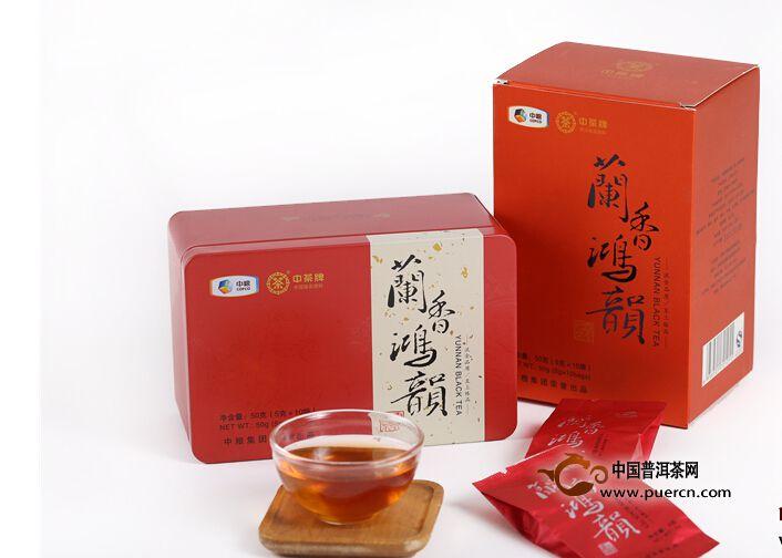 2013年中茶兰香鸿韵(红茶)50克