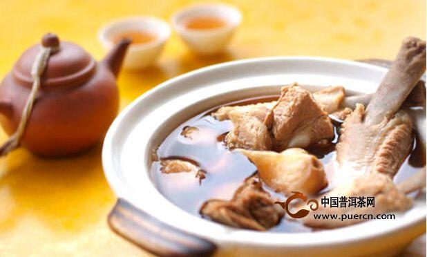 普洱茶入菜的新菜式